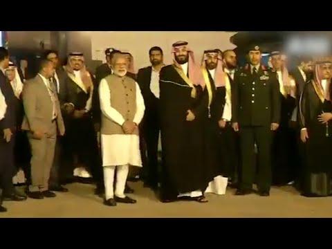 PM Modi welcomes Saudi Crown Prince with a warm hug