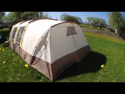 104 & Broadstone 13 person tent review - YouTube