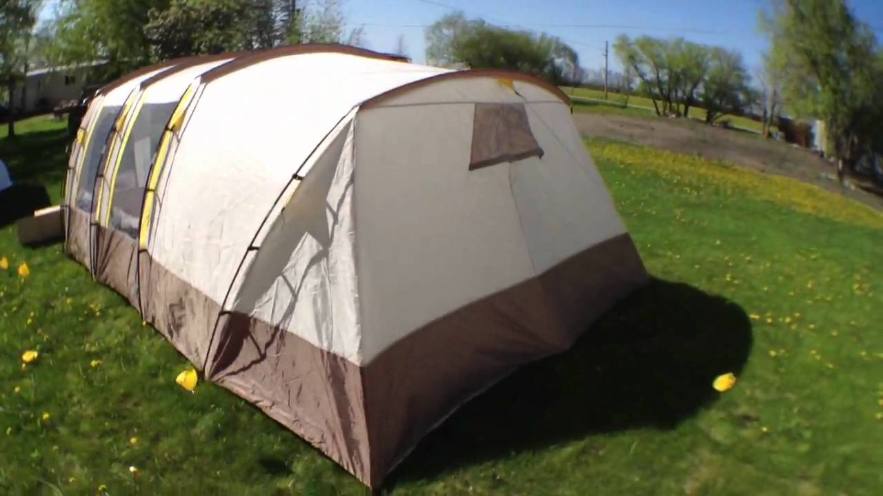 Broadstone 8 Person Euro Tent From Canadian Tire & Broadstone 8 Person Euro Tent From Canadian Tire - YouTube
