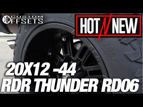 Hot n New Ep.99: Red Dirt Road Thunder RD06 20x12 -44