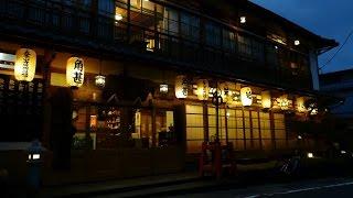 紅葉の始まった天川村と行者還林道の動画です 天川村では洞川の夜景を楽...