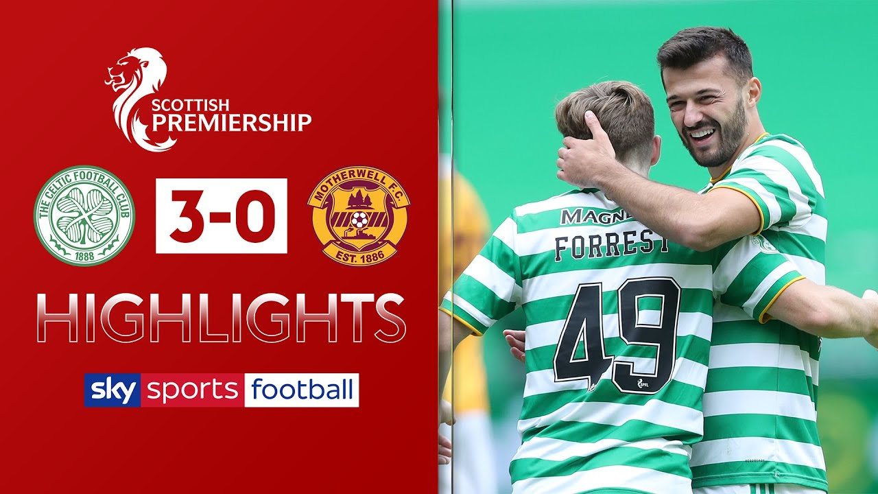 Albian Ajeti helps Celtic cruise past Motherwell | Celtic 3-0 Motherwell | SPFL Highlights