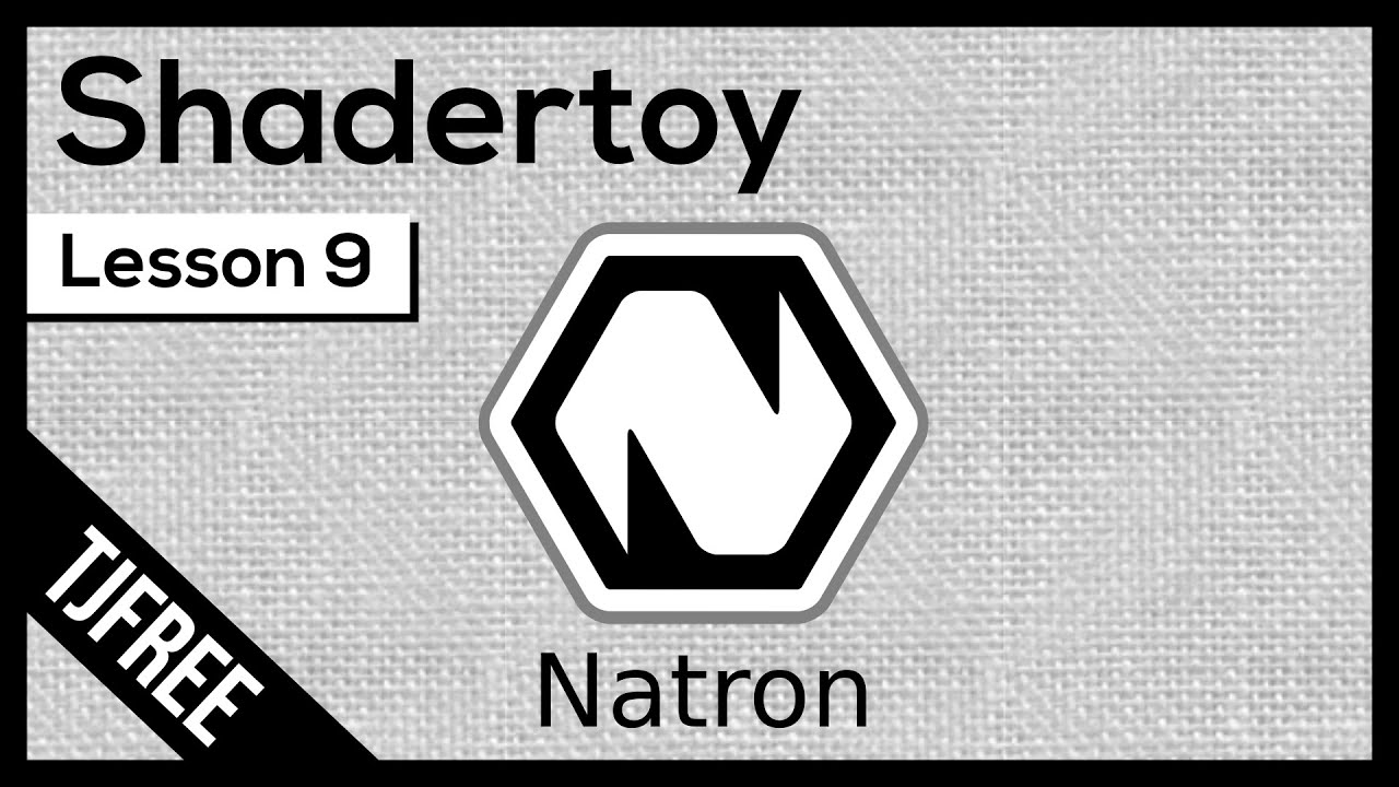 Natron Lesson 9 - Using Shadertoy to create backgrounds and effects