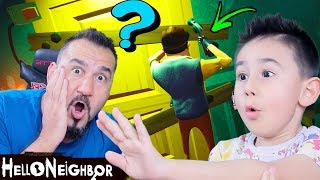 HELLO NEIGHBOR ŞARKISI VE DEVASA YENİ EV! | HELLO NEIGHBOR #6