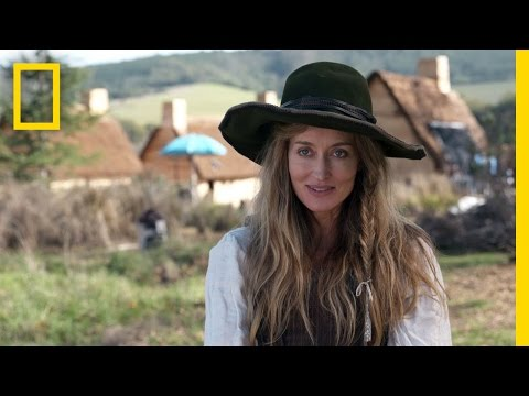 Natascha McElhone: Playing Elizabeth Hopkins  Saints & Strangers