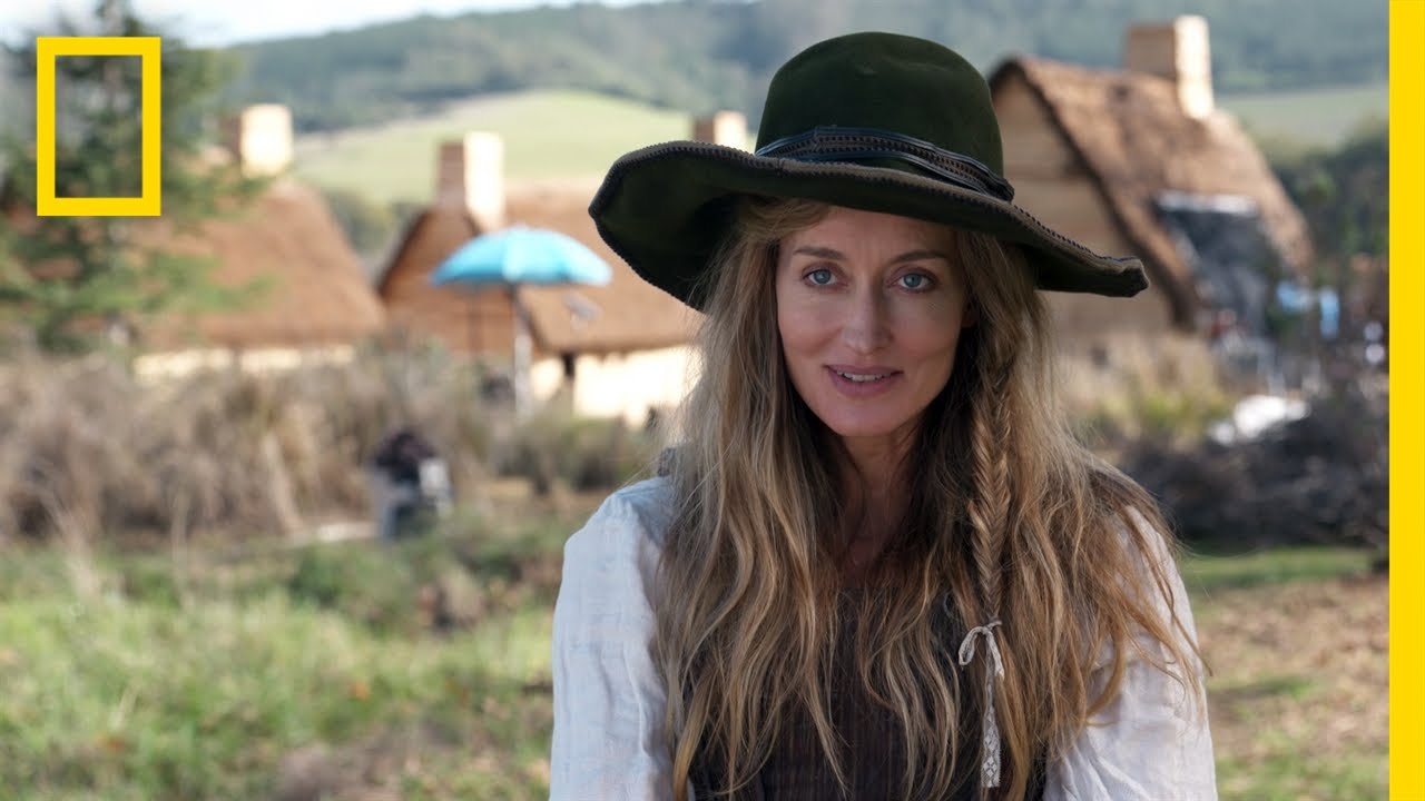 natascha mcelhone: playing elizabeth hopkins | saints & strangers