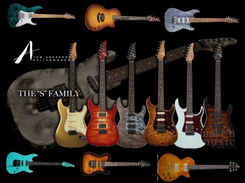 История гитар Tom Anderson Guitarworks