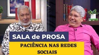 PACIÊNCIA NAS REDES SOCIAIS