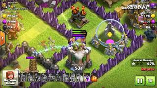 New seasonal troop clash of clans el primo ke Sath ek attack