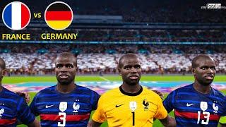 PES 2021   Team N.KANTE vs GERMANY   UEFA EURO 2020   France vs Germany Gameplay