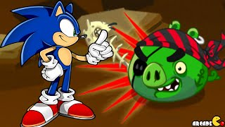 Angry Birds Epic - Sonic Dash Team Up Super Sonic New Cave 16 Holy Pools!