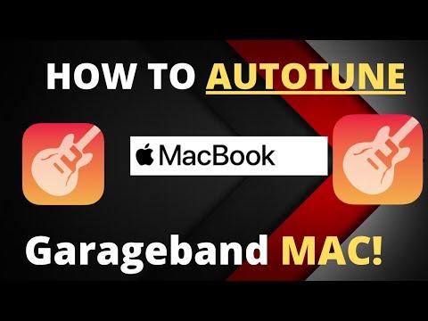 HOW TO AUTOTUNE IN GARAGEBAND MAC (2018)