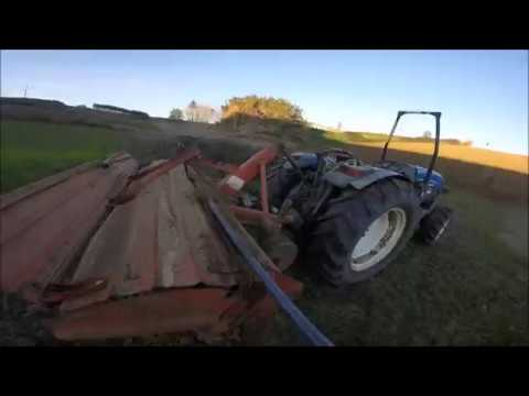 Onboard Whit New holland//Work In Field//