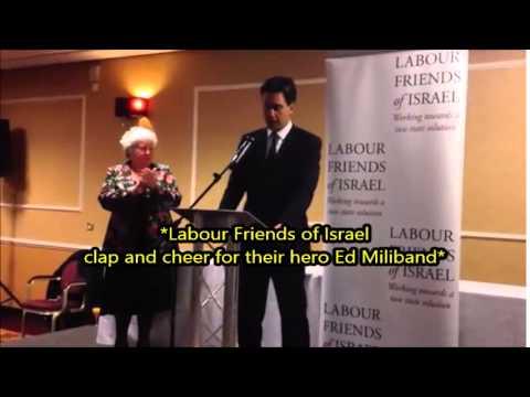 Ed Miliband supports Israel