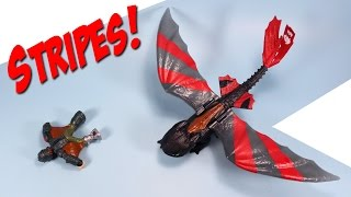 How to Train Your Dragon Riders Racing Stripes Toothless & Wingsuit Hiccup