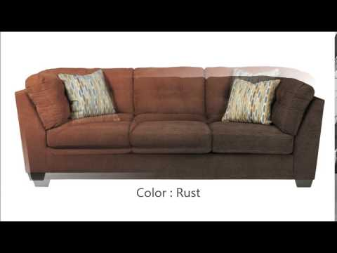 Delta City   Steel Wood Fabric Sofa
