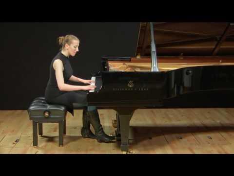 Louise Farrenc - Etude in F Sharp Minor, op. 26 no. 10 (Madelaine Jones)