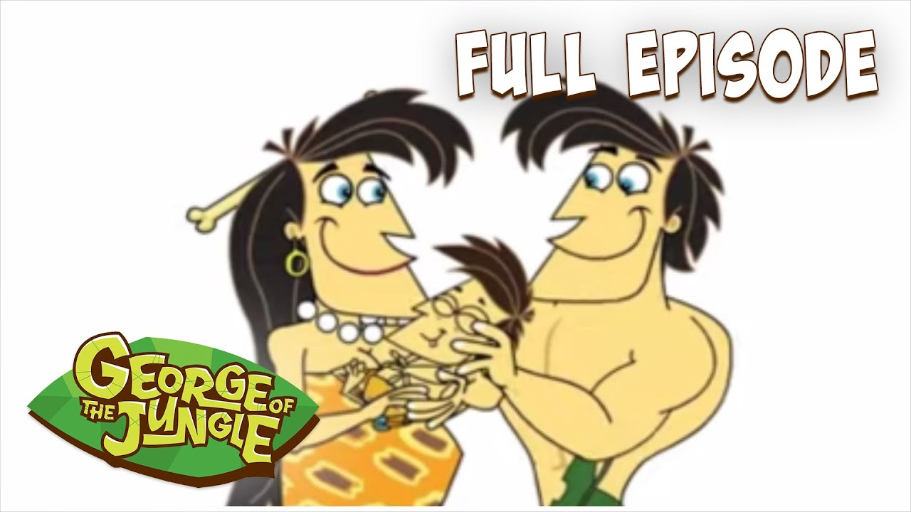 Download I Gotta Beave Me | George Of The Jungle | English Full Episode | Funny Cartoons For Kids