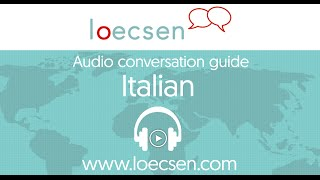 Audio Italian Courses: 400 basic words and useful phrases for your trip