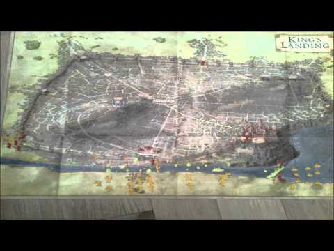 The Battle of the Blackwater in stopmotion