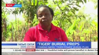 TIGER burial preps | Strongest man in Africa Tiger Power DEAD