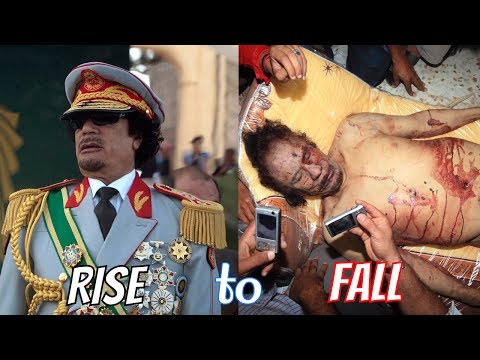 The Rise and Fall of Libyan Dictator Muammar Qaddafi