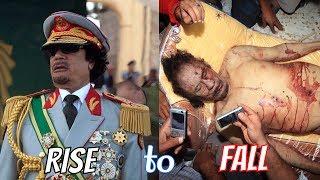The Rise and Fall of Libyan Dictator Muammar Qaddafi