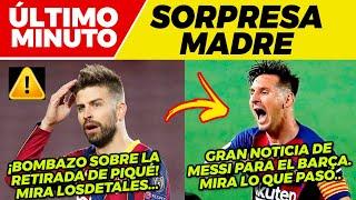 ?GIRO INESPERADO con MESSI ?¿GERARD PIQUÉ se RETIRA ya? ⚽ Previa FC BARCELONA vs CADIZ LA LIGA ?