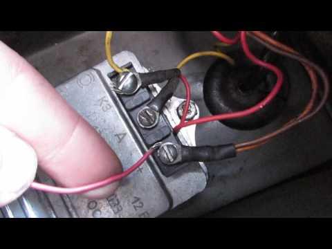 как подключить тахометр на УАЗ