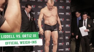 Chuck Liddell vs. Tito Ortiz 3: Official Weigh-Ins