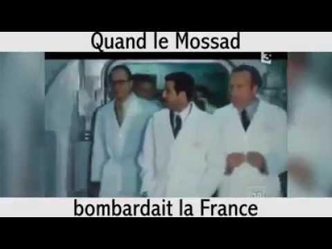quand le mossad bombardait la france