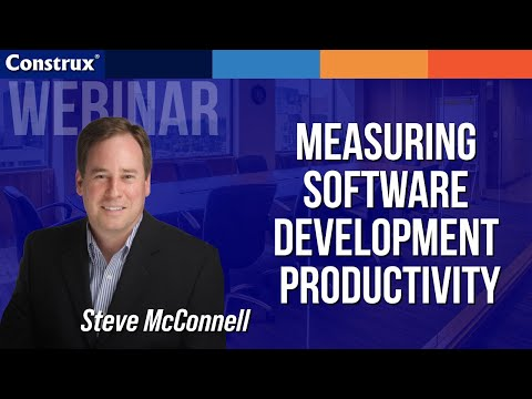Measuring Software Development Productivity