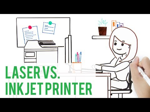 Inkjet Printer vs. Laser Printers | Which One is Right for You?