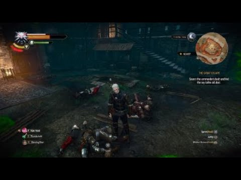 The Witcher 3: Wild Hunt | Taking down the prison guards