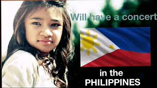 FINALLY!, Angelica Hale has her concert in her Mother's country The Philippines