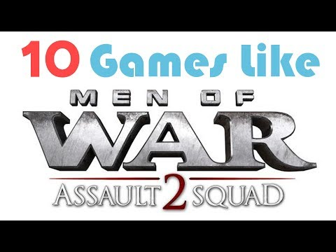 10 Games Like Men Of War Assault Squad 2