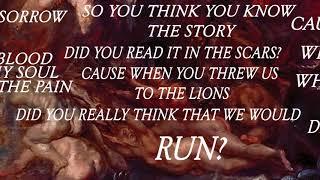 Parkway Drive - In Blood //lyrics//