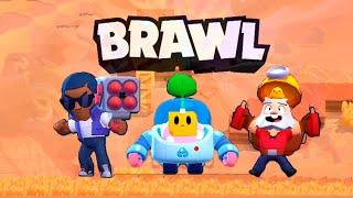 Играем в Brawl Stars в парное столкновение l Спраут и Динамайк l Спраут и Брок