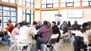 Community Cafe.           African Community Housing & Development