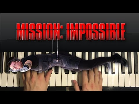 How To Play - Mission Impossible - Theme Song (PIANO TUTORIAL LESSON)