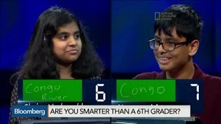 Geography Bee: Are You Smarter Than a 6th Grader?