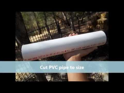 how to make dog enrichment toys from pvc pipe youtube. Black Bedroom Furniture Sets. Home Design Ideas