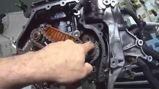 Motor Audi Q5 TFSI  2.0 - Sincronismo das Correntes de Comando e Balanceador do Motor TFSI