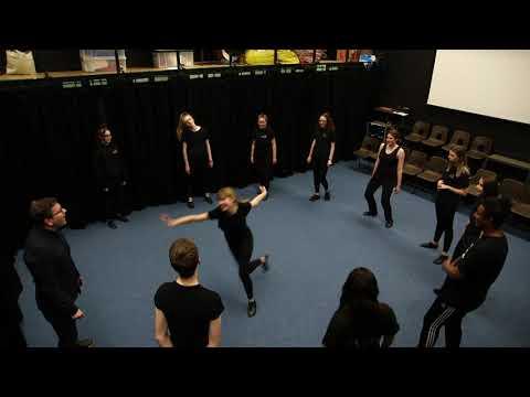 Theatre Game #2 - Spaghetti. From Drama Menu - Theatre Games In Three Courses.