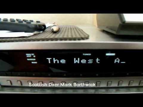FMDX Radio ROCKMAX 89.6mhz Zlin Czech Republic Received In Scotland WIth Sony Tuner and 2EL Quad
