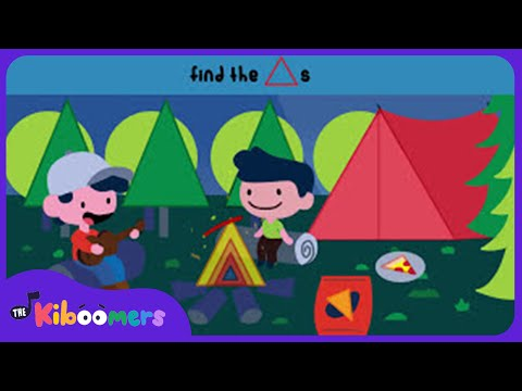 A Camping We Will Go | Kids Song | Kids Game | The Kiboomers | Learning | Games kindergarten