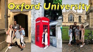 EXPLORING OXFORD UNIVERSITY | FIL-AM FAMILY TRAVELS FROM US TO EUROPE |