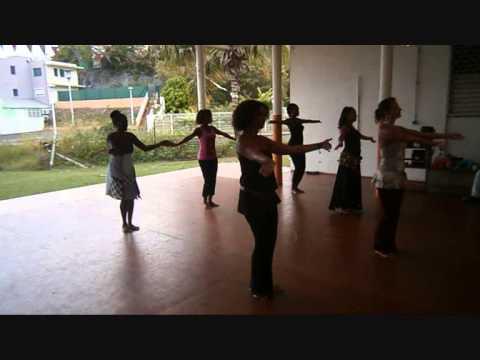 Stage de danse orientale avec Angela en Guadeloupe- Aout 2013