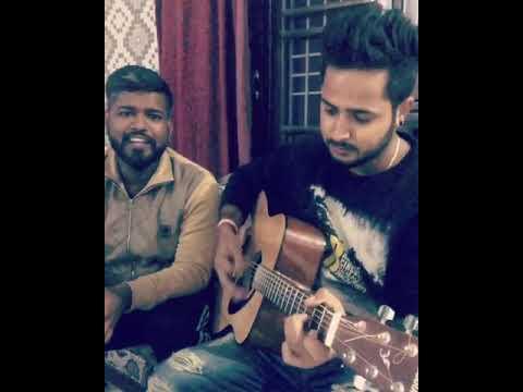 Sathiya tune kya kiya #accoustic guitar cover@vivek BAWA kaushal
