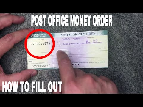 ✅  How To Fill Out USPS Post Office Money Orders 🔴
